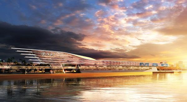 MSC Cruises Private Cruise Terminal PortMiami