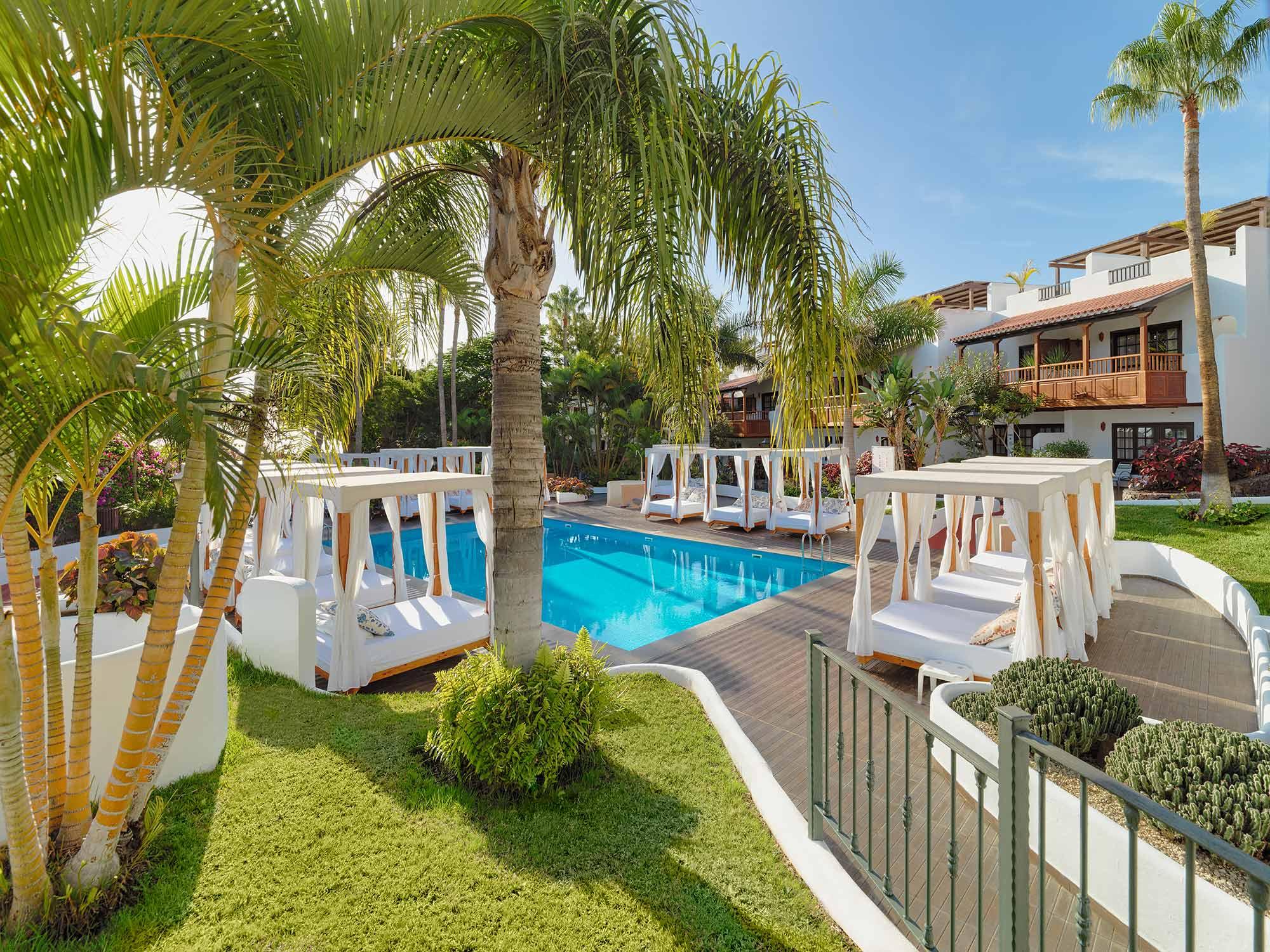 Hotel Jardin Tecina Duplex Suite Pool
