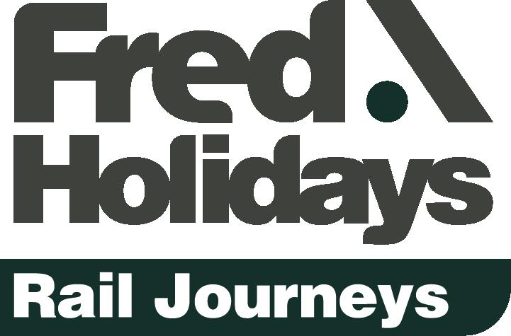 Fred.\ Rail Journeys logo