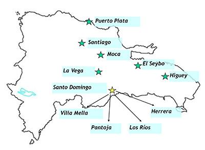 Locations clinics