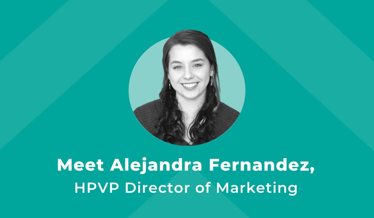 Meet HPVP's new Director of Marketing