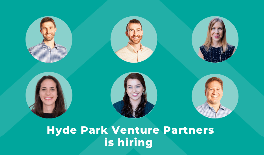 Hyde Park Venture Partners is hiring two early-career investors