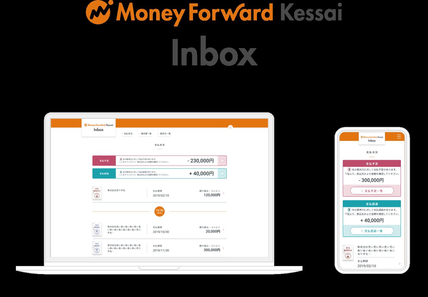 Money Forward Kessai Inbox
