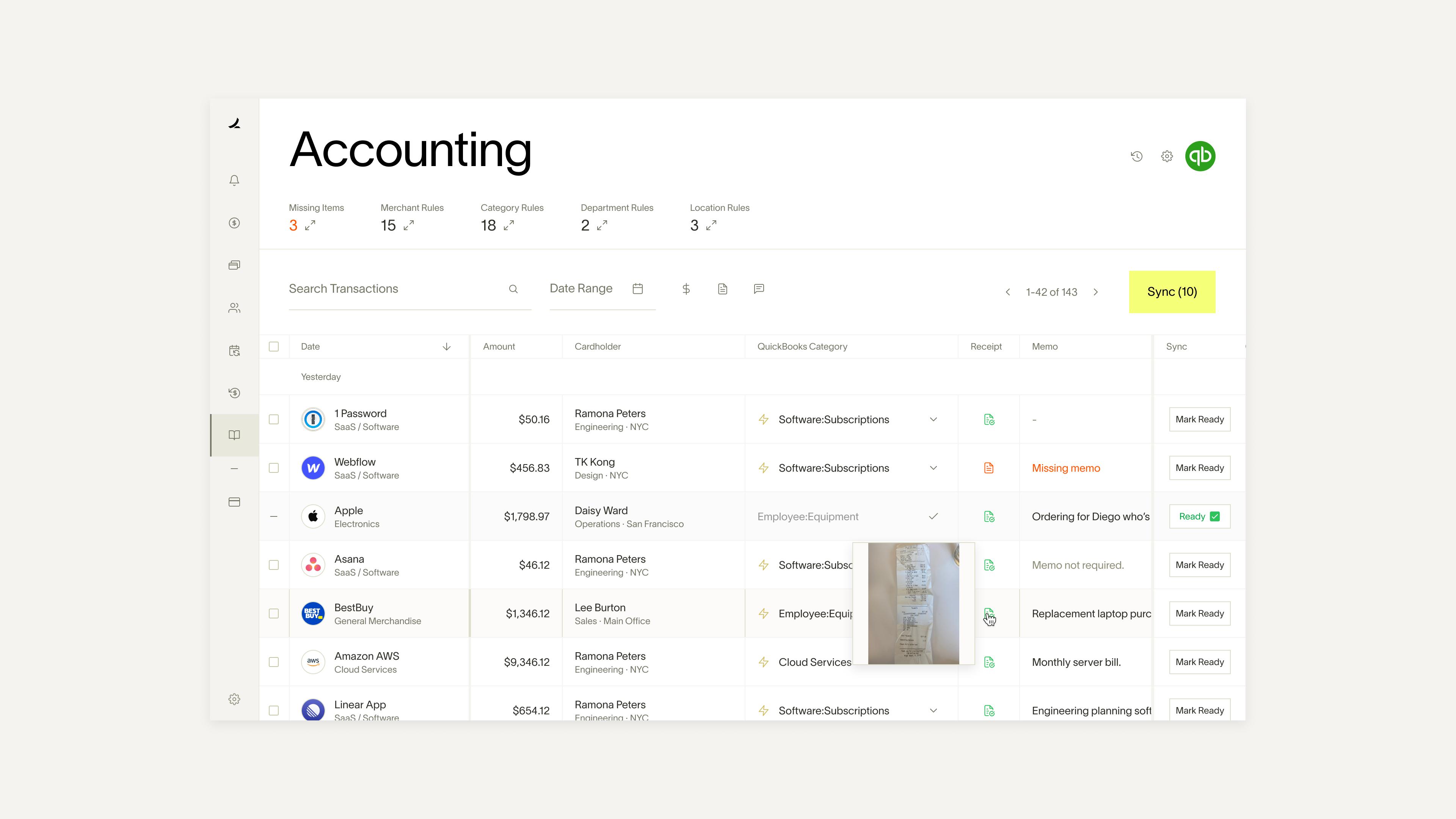 ramp accounting canvas