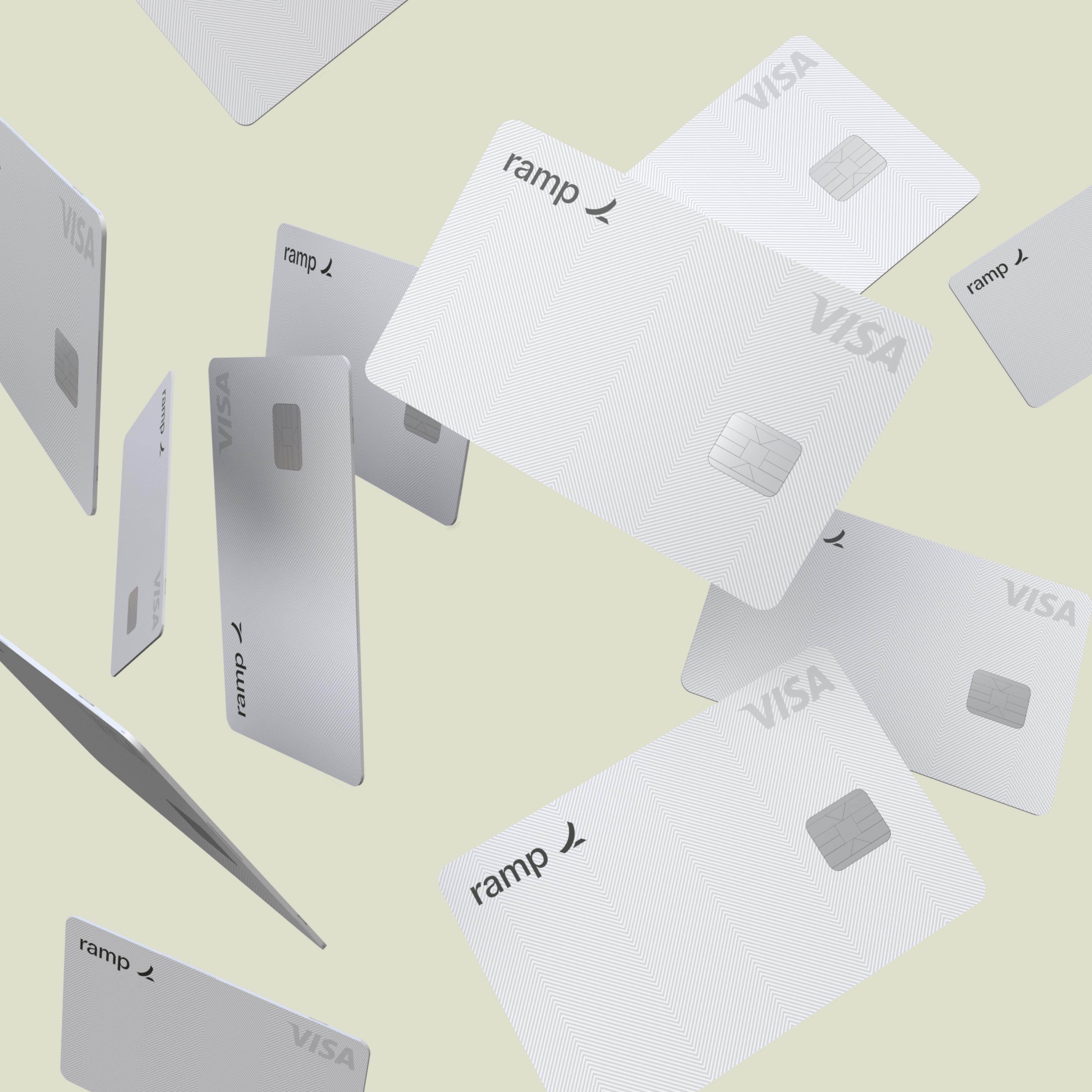 ramp cards falling