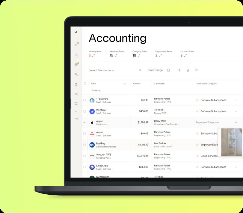 Ramp Accounting Mac