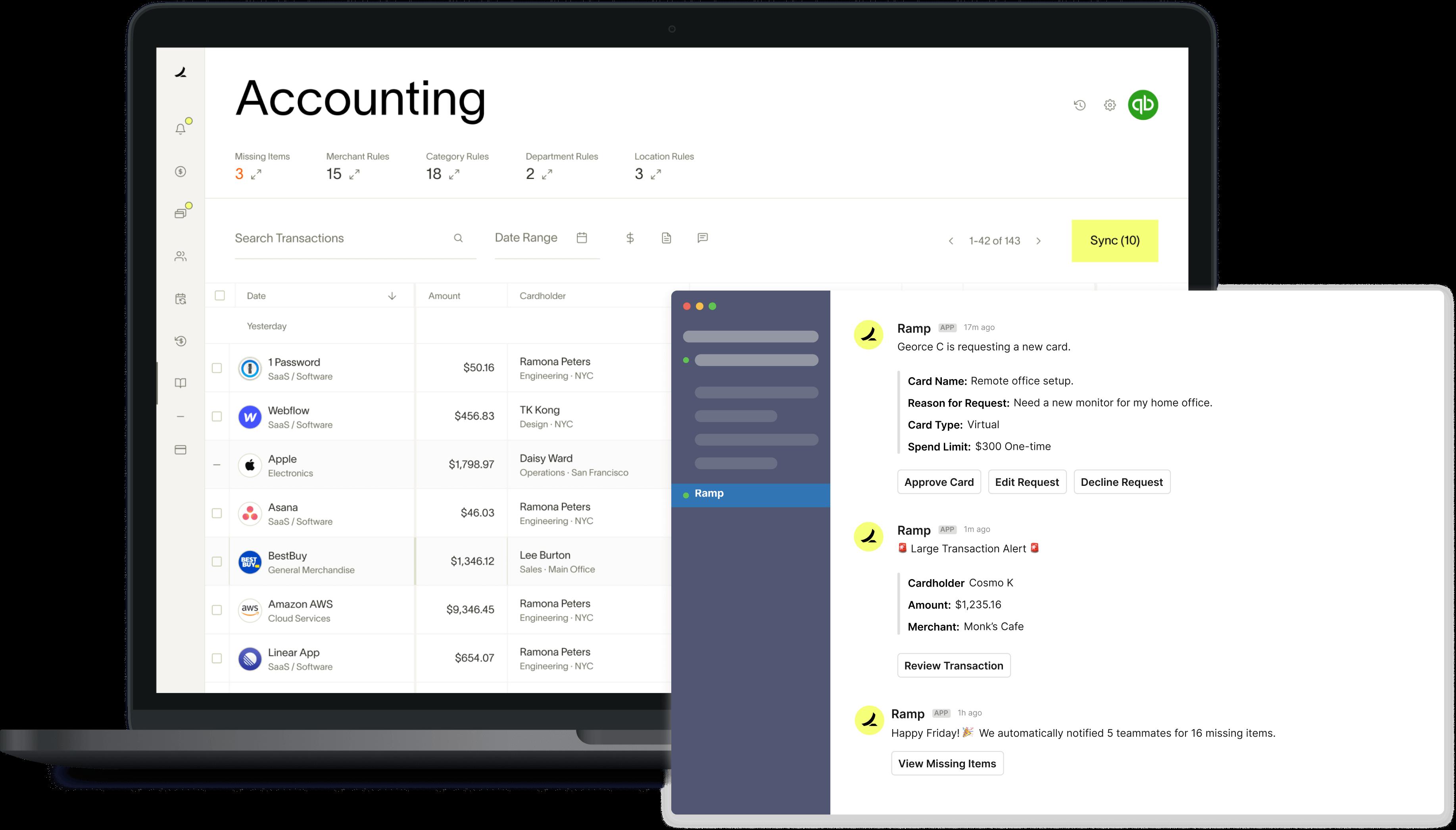 Ramp Accounting Integrations