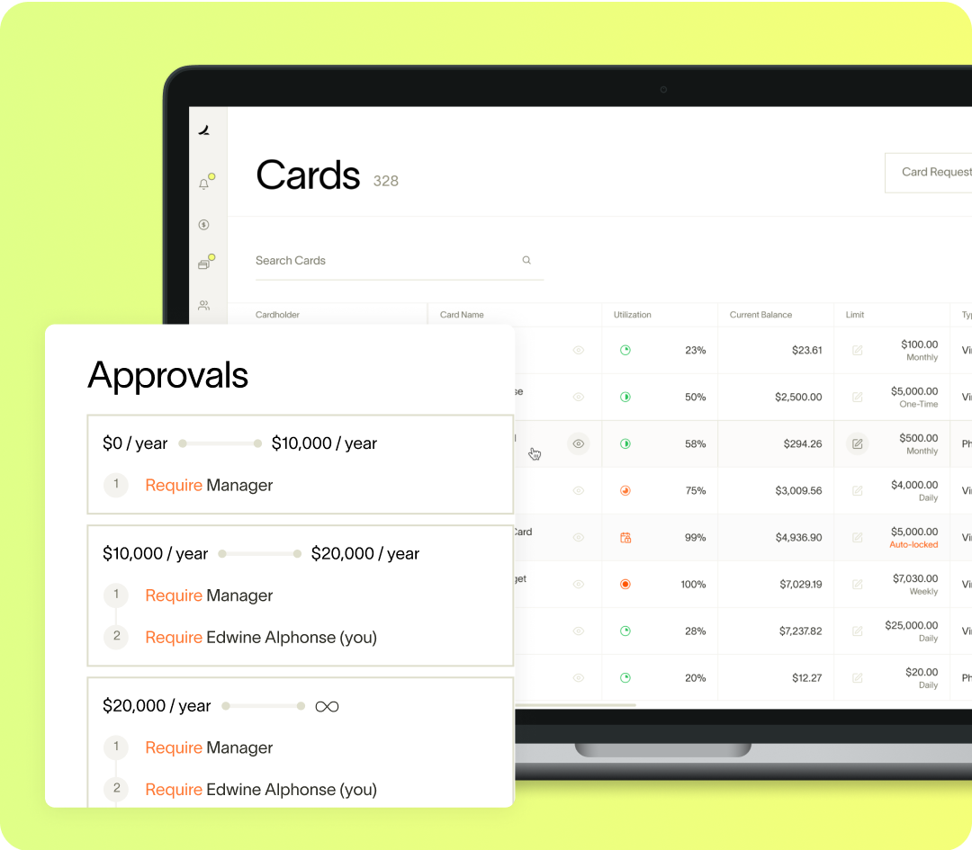 Ramp Card Approvals