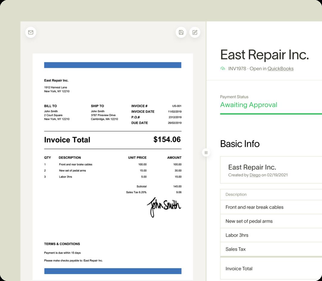 Ramp Bill Pay Invoice