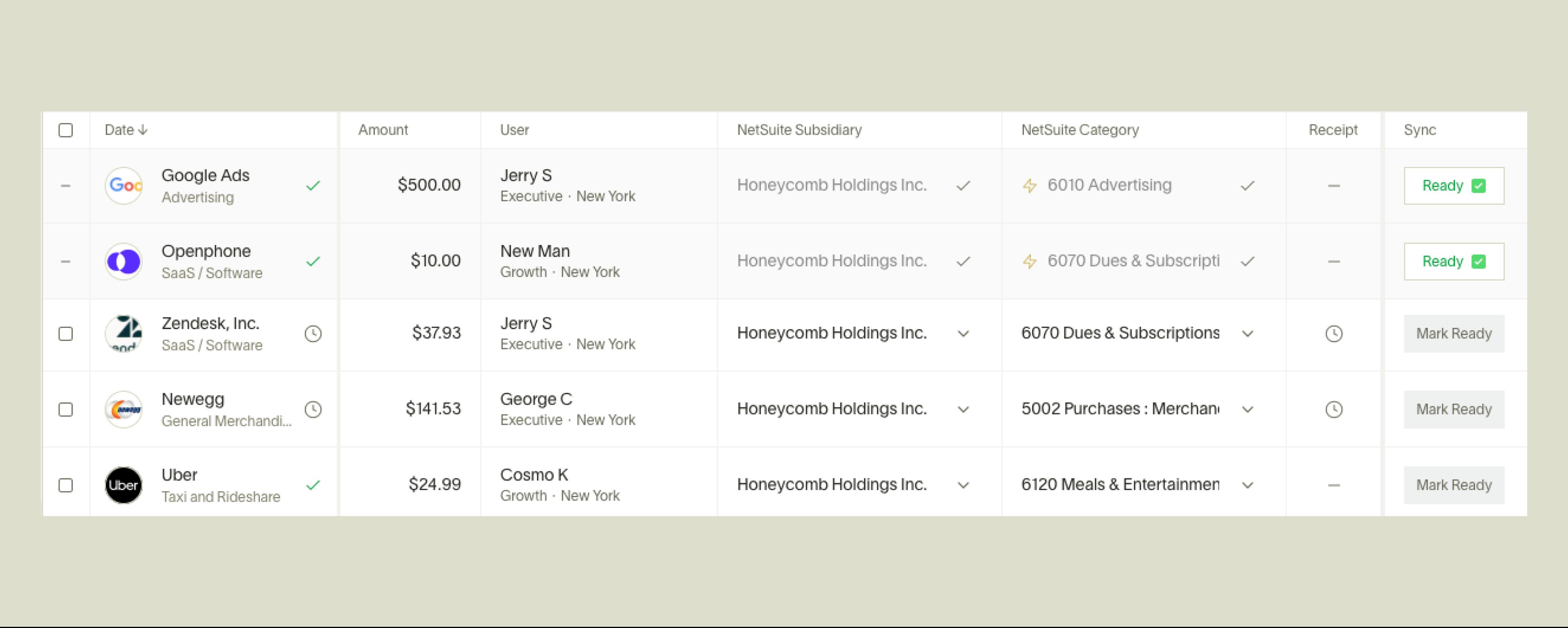 Ramp NetSuite integration - multi-subsidiary support