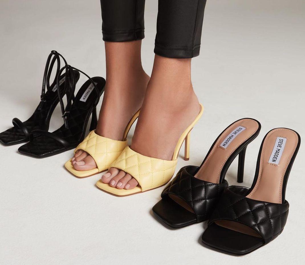 Three pairs of heels