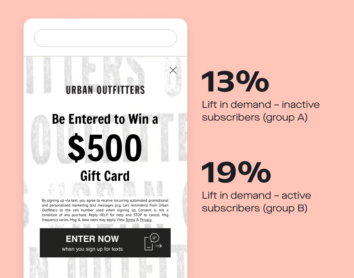 Urban outfitters $500 gift card sign-up