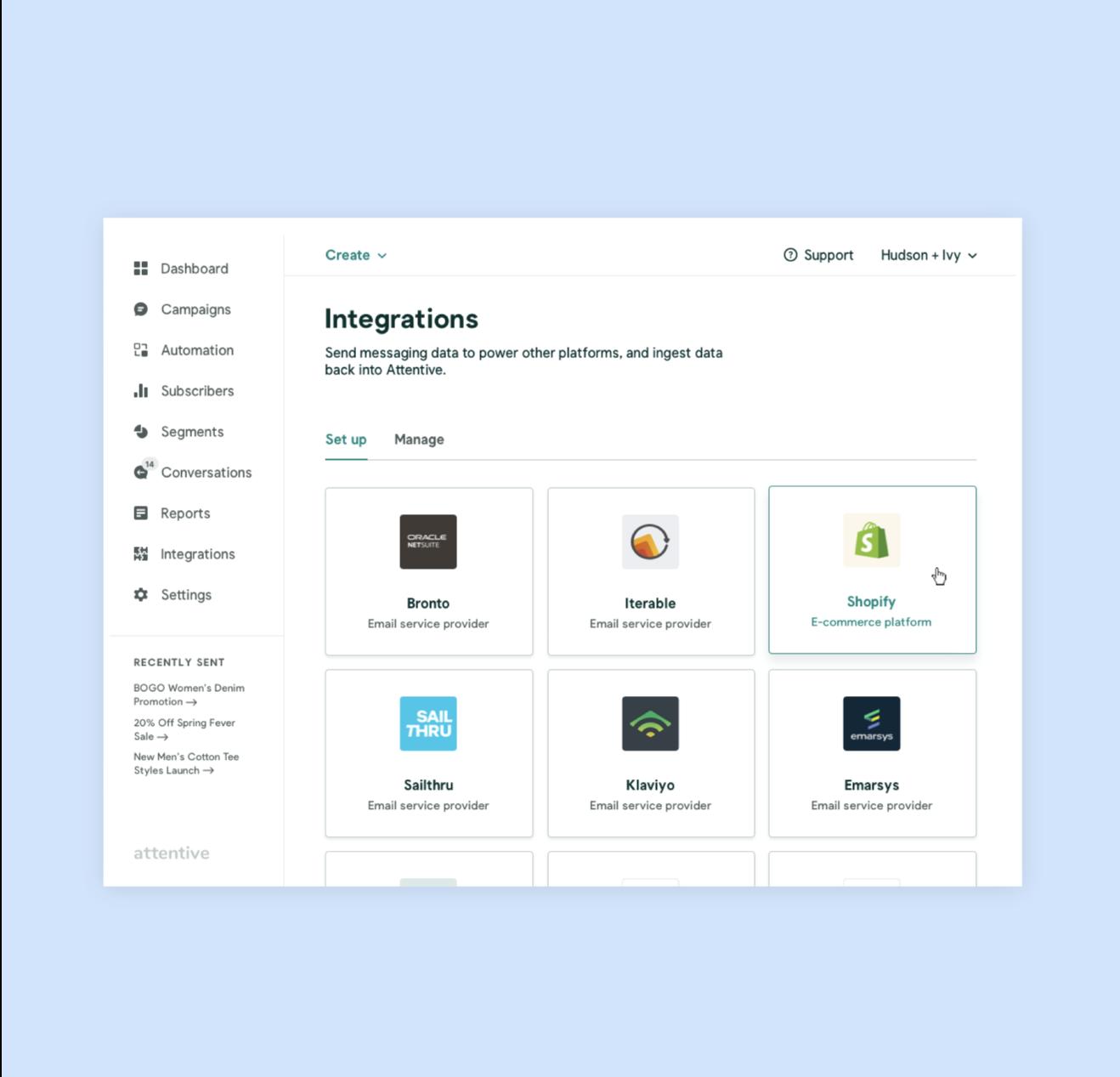 craft your program - integrations image