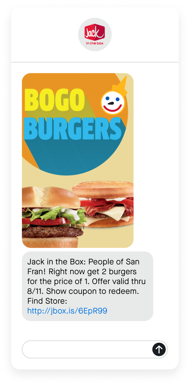 jack in the box text message phone
