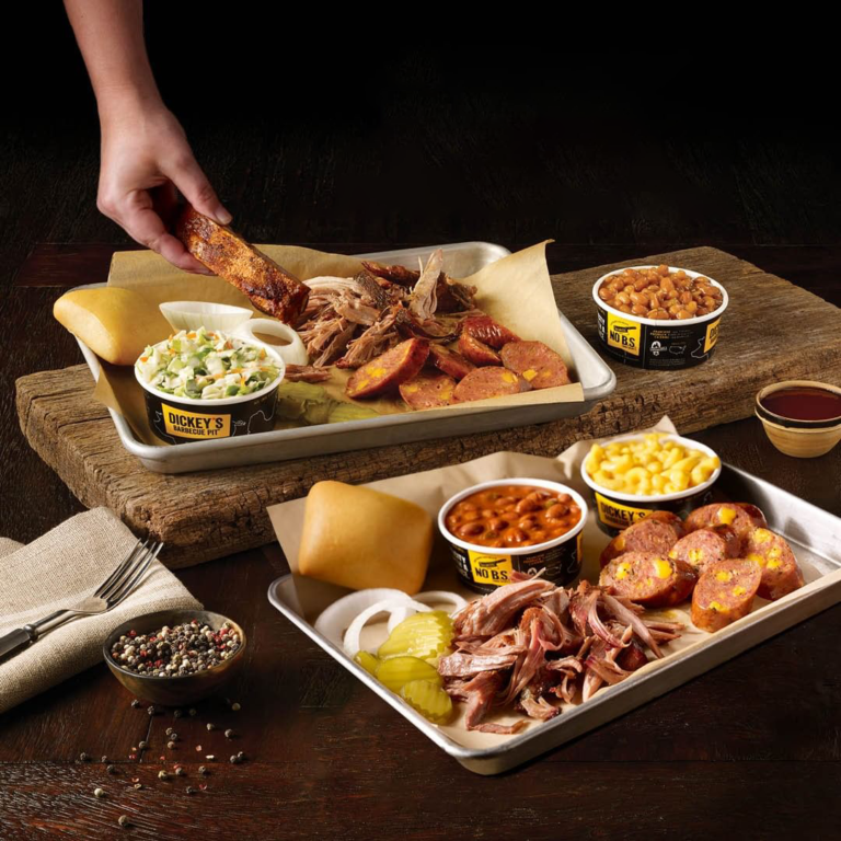Dickey's Barbecue food