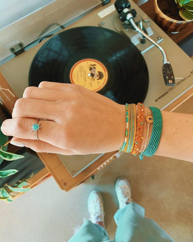 Pura Vida bracelet stack