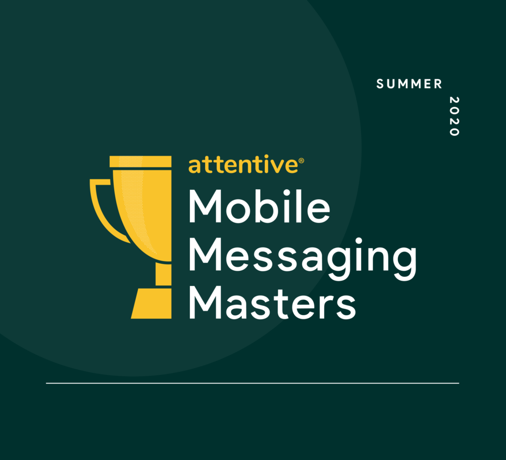 Mobile messaging masters summer 2020 trophy