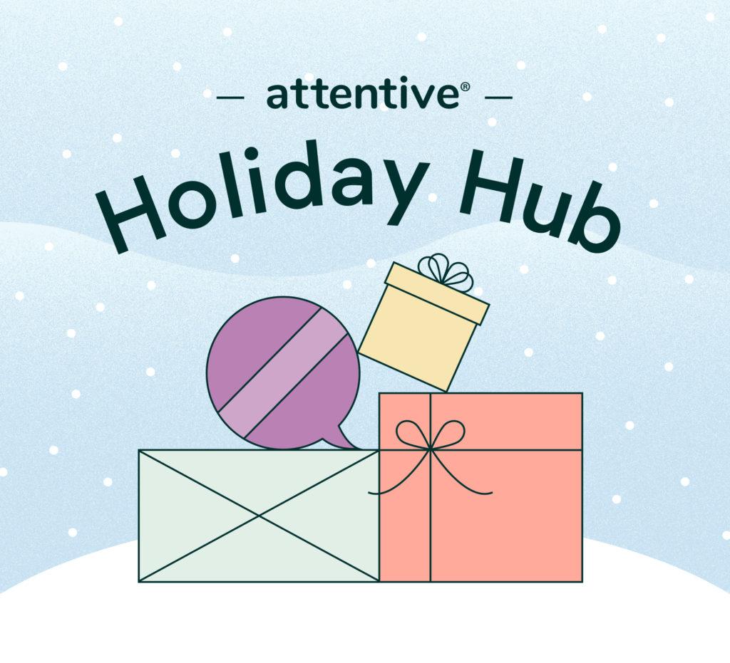 Holiday hub presents and ornaments image