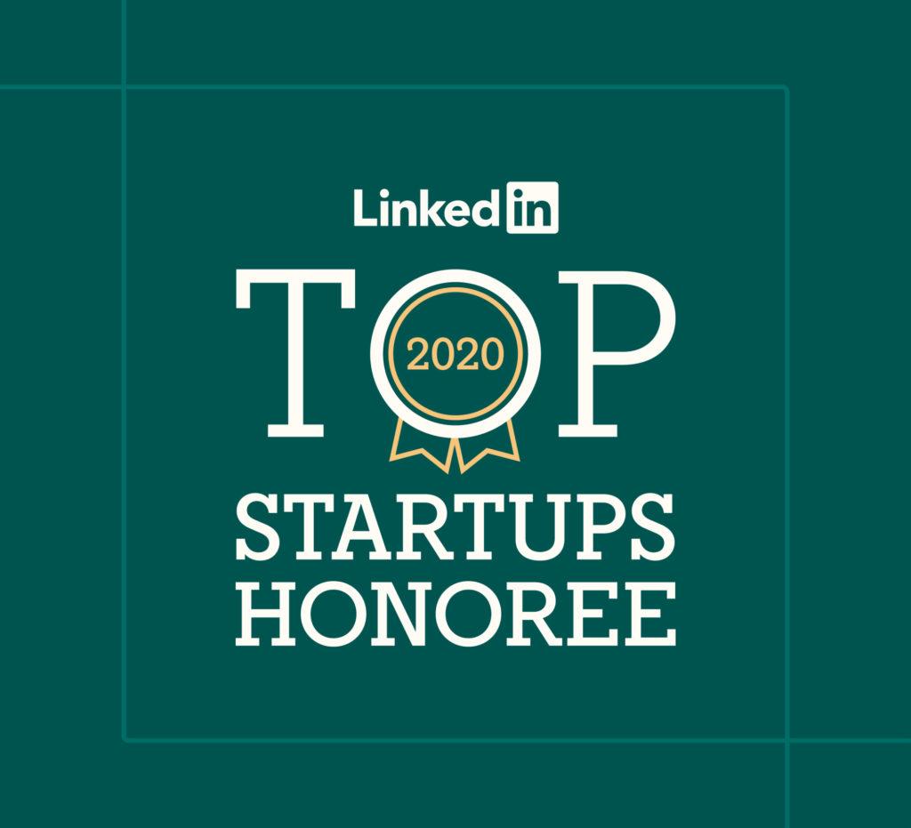 LinkedIn top startup graphic