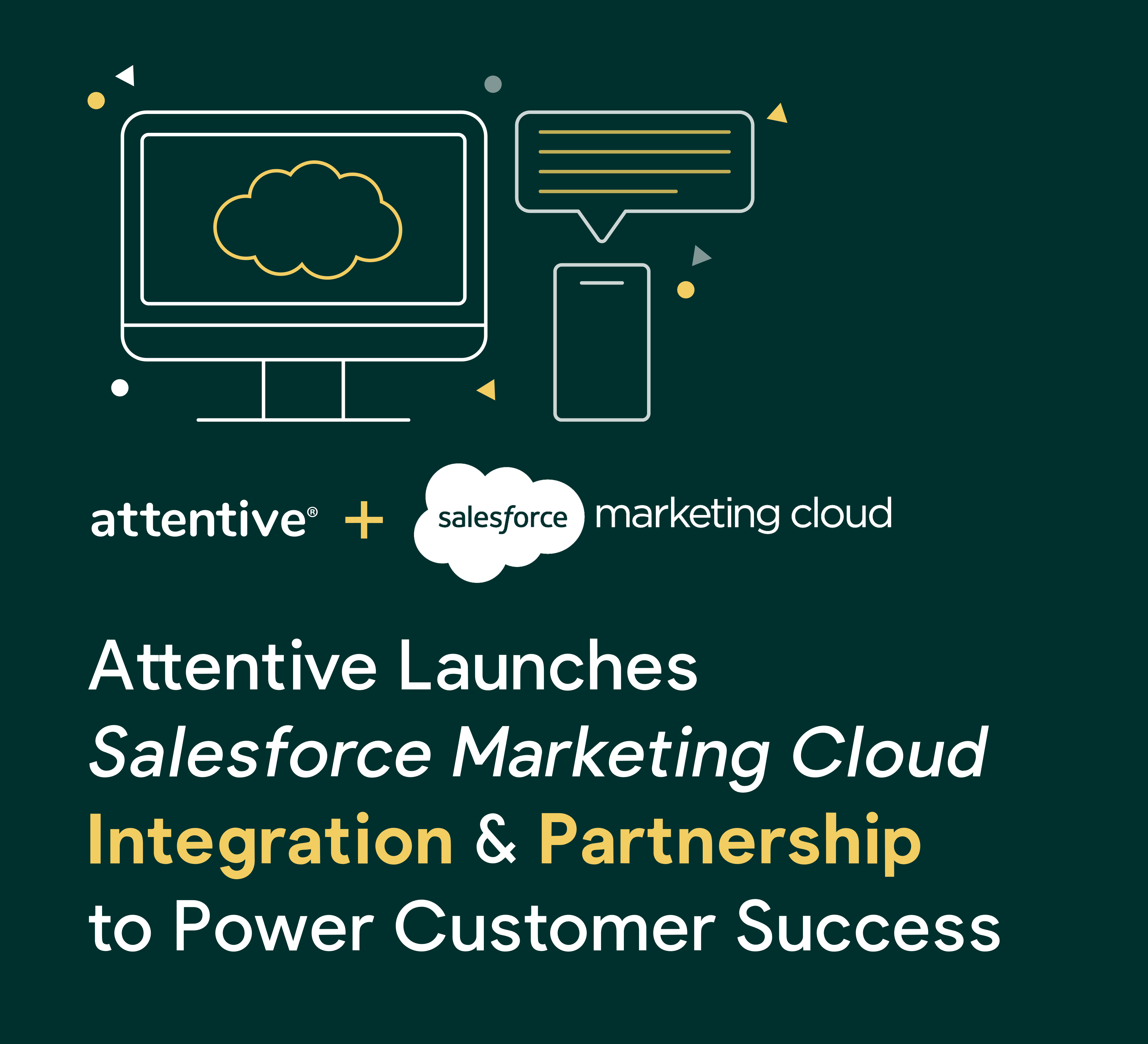 Attentive and salesforce integration