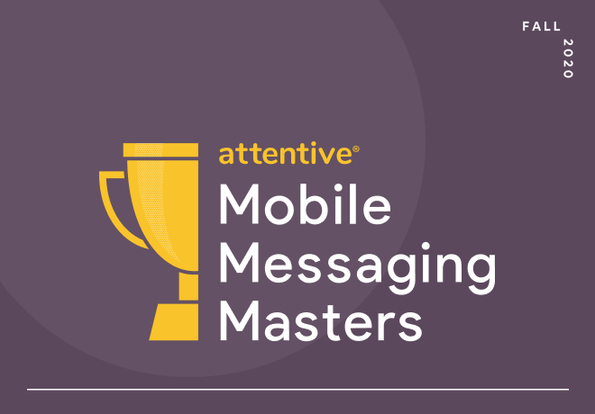 mobile messaging masters fall 2020 trophy