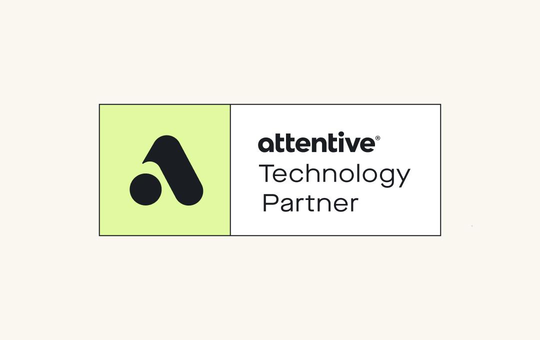 Attentive technology partner program logo