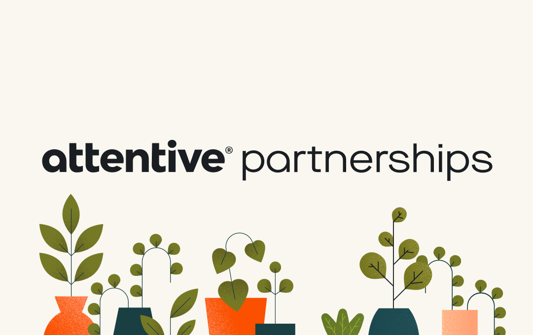 Attentive partnerships graphic