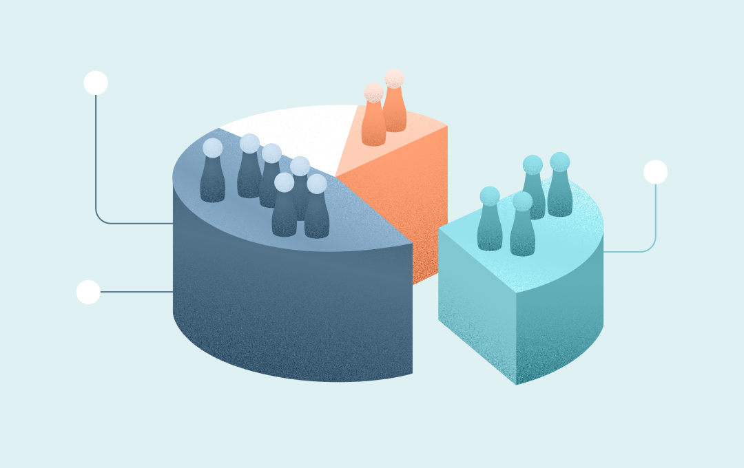 Subscriber segmentation illustration