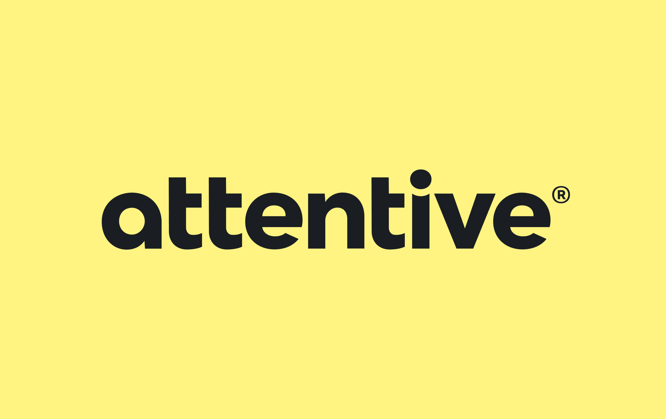 Attentive yellow and black logo