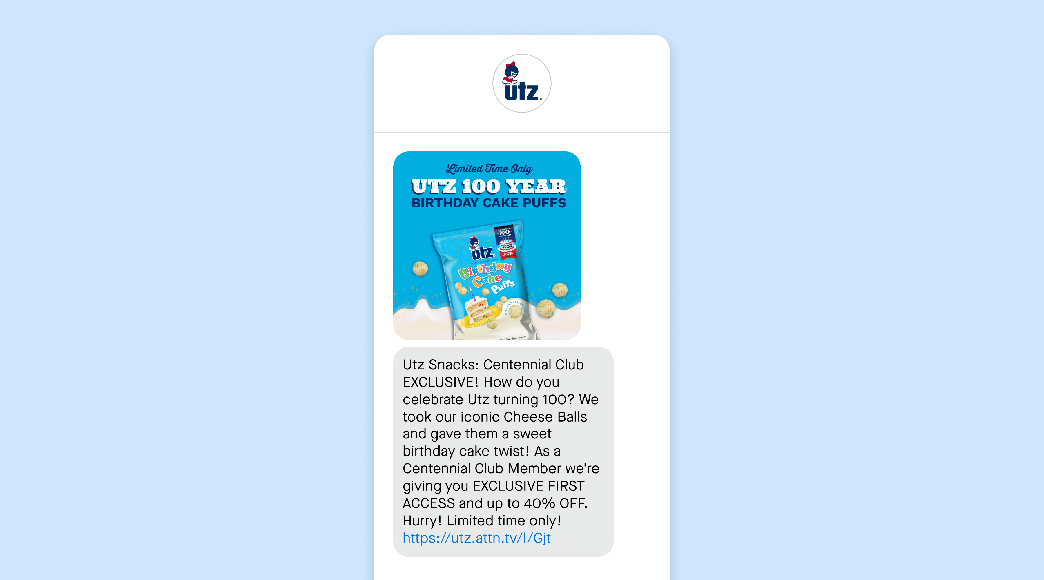 UTZ limited time offer