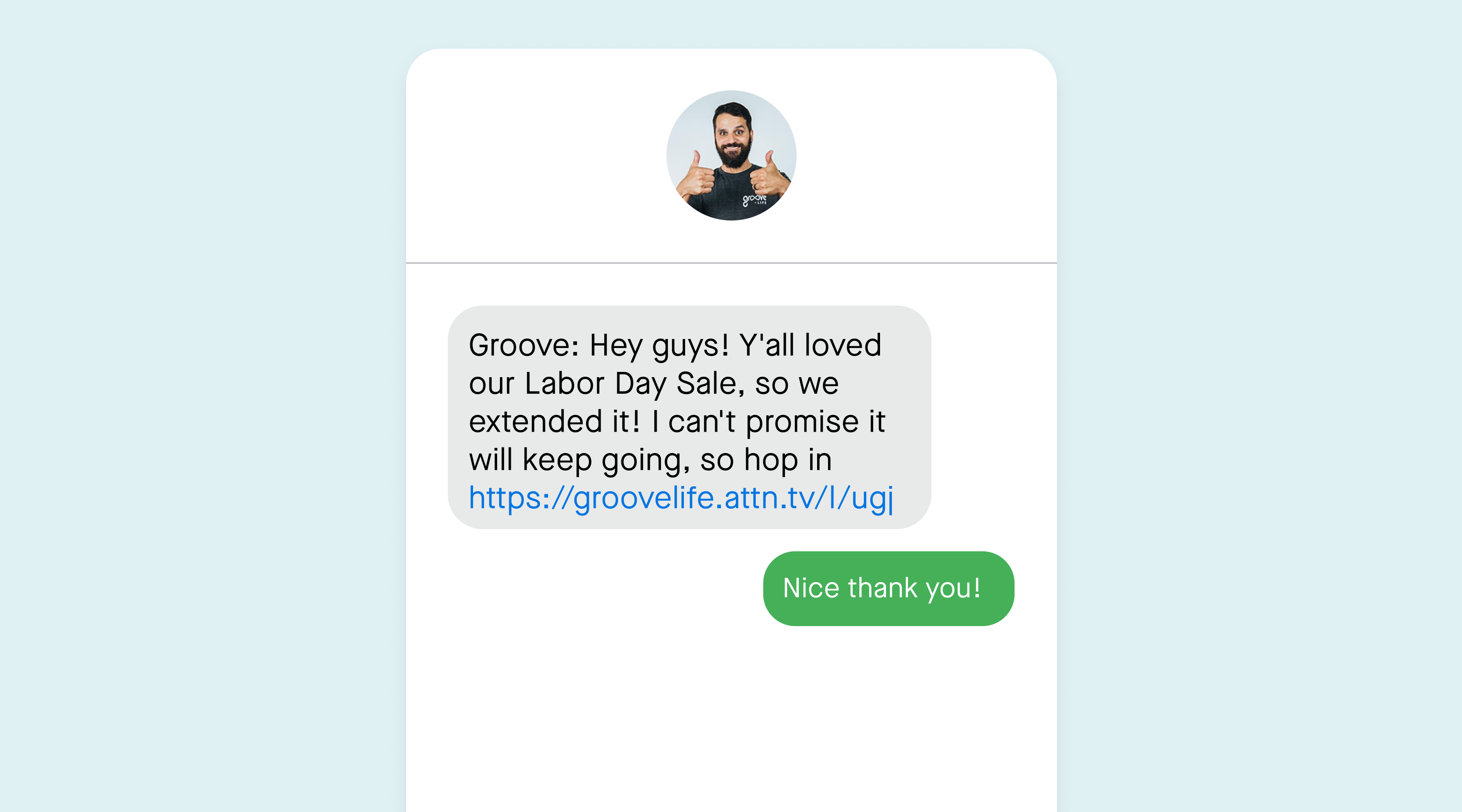 texts we love groove life