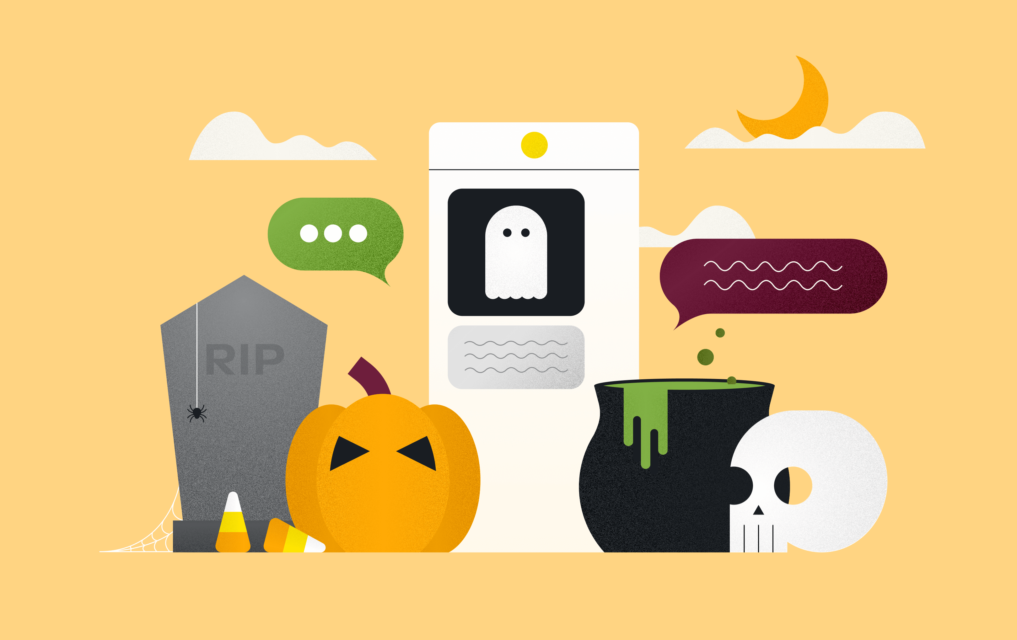 halloween text message examples
