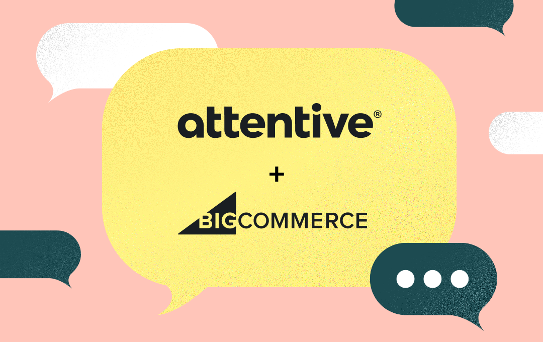 attentive and bigcommerce