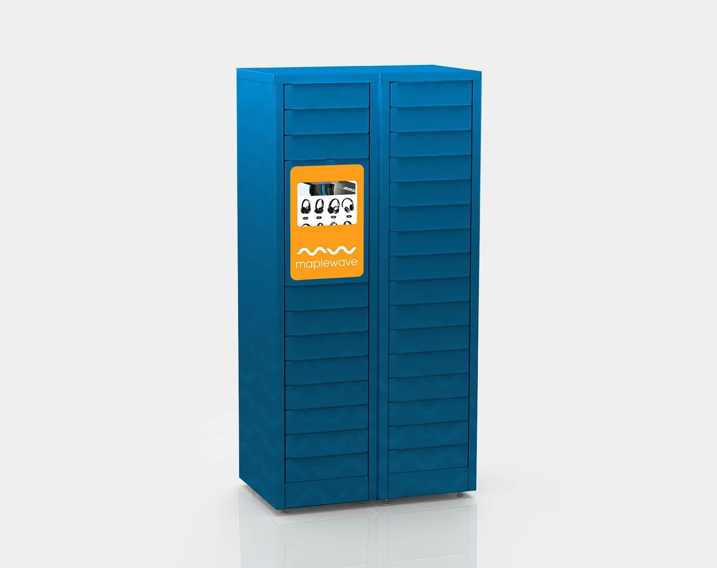 Kiosk locker pick up