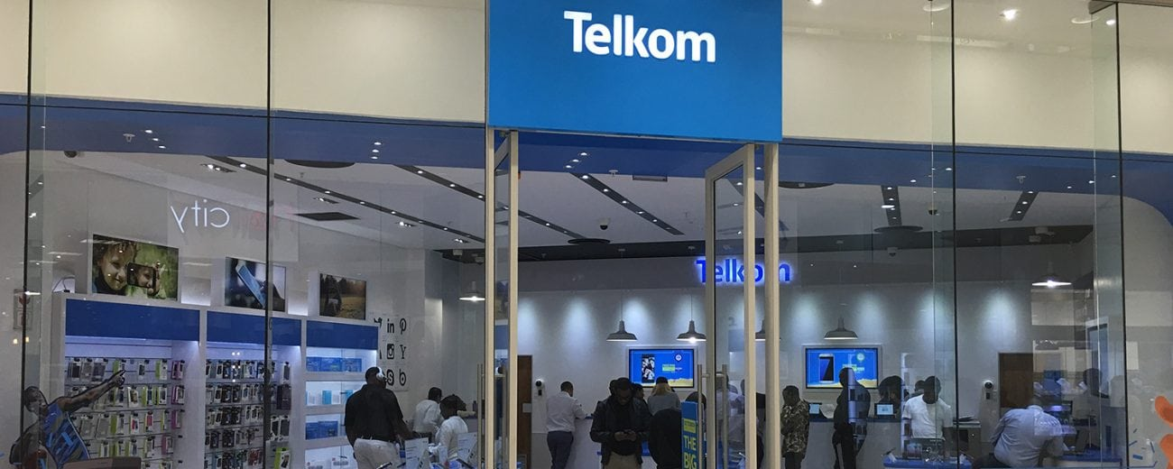 Telkom South Africa store front