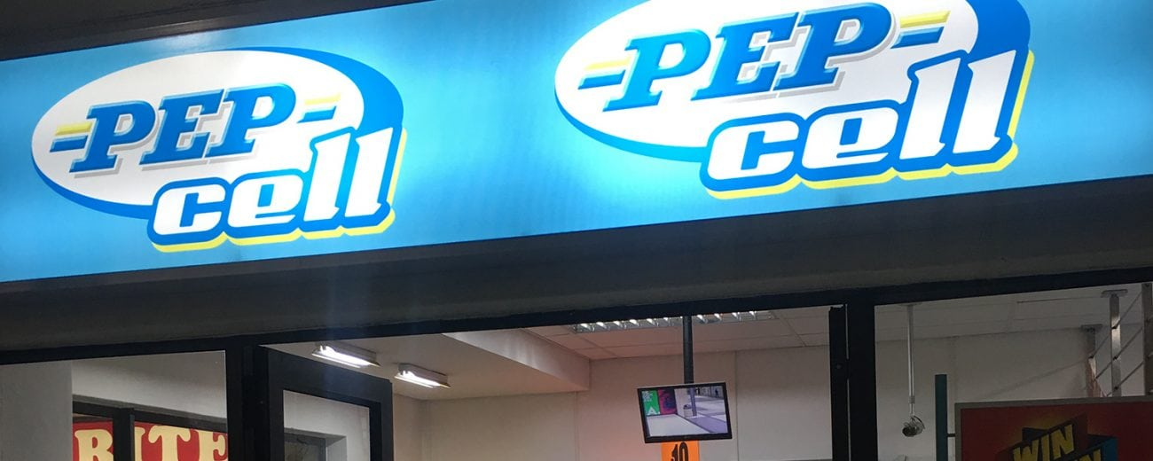 Pep telco store front