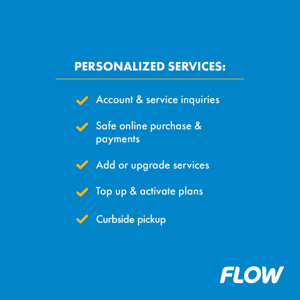 Advertisement for Flow