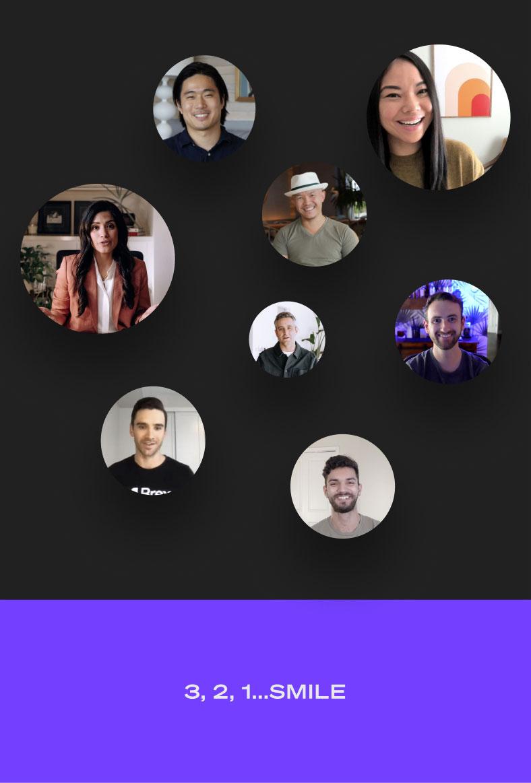Screenshot of Photobooth