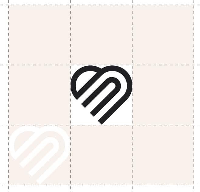 Image showing logo spacing