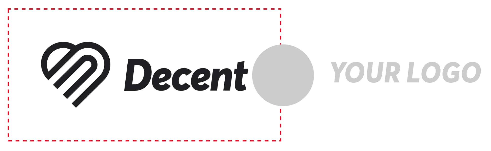 Image showing improper logo placement