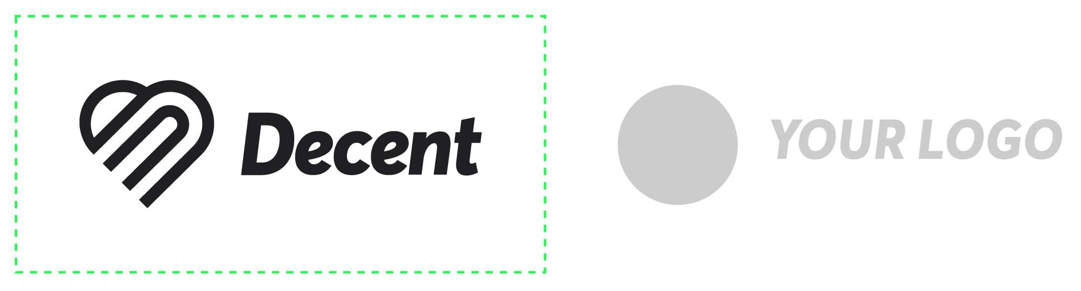 Image showing proper logo placement
