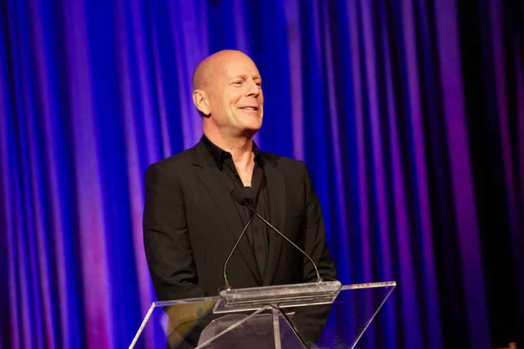 Bruce Willis Honoree 2016 American Institute for Stuttering