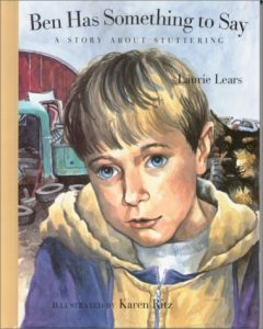 AIS Blog - Books for kids who stutter - Ben Has Something to Say