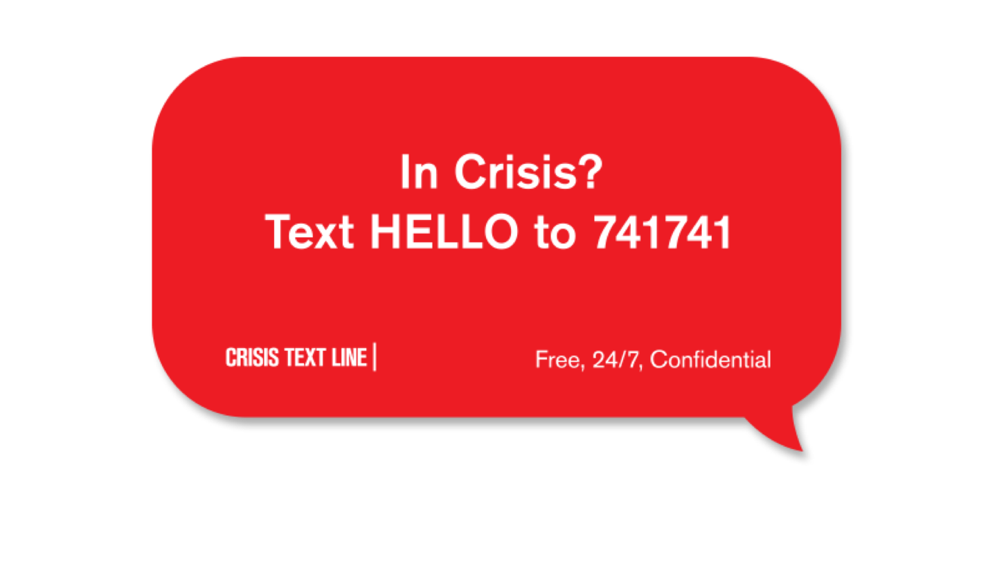 Crisis Text Line | American Institute for Stuttering