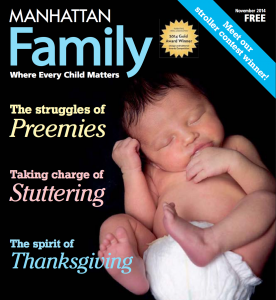 NY Parenting Magazine Cover