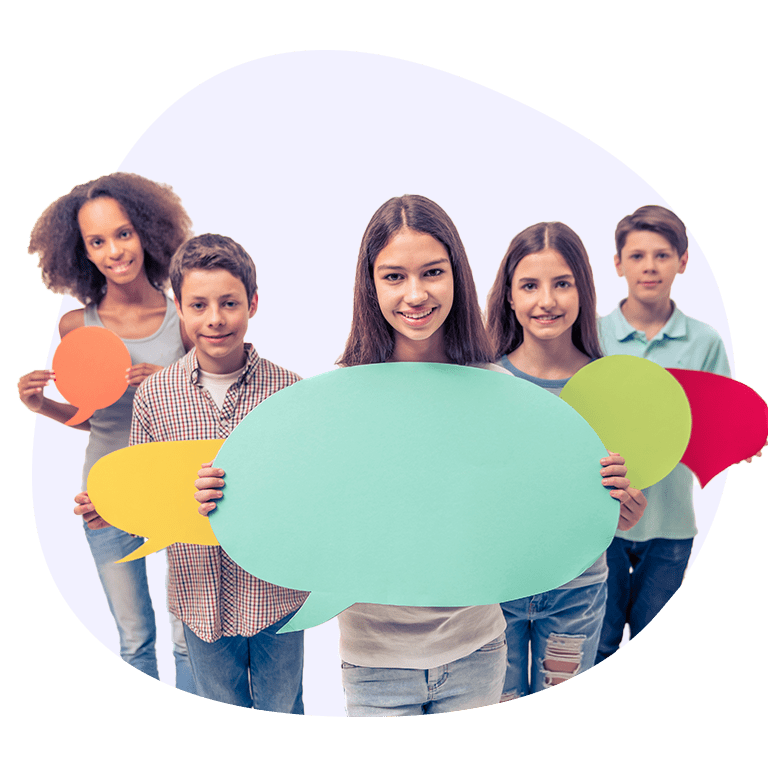 Speech therapy for kids session