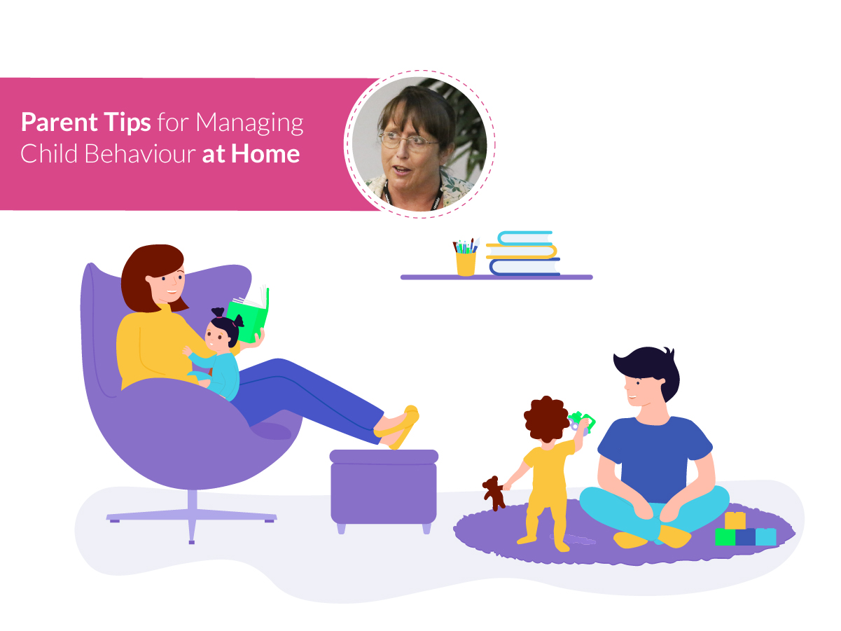 Happy Families: Parent Tips for Managing Child Behaviour at Home