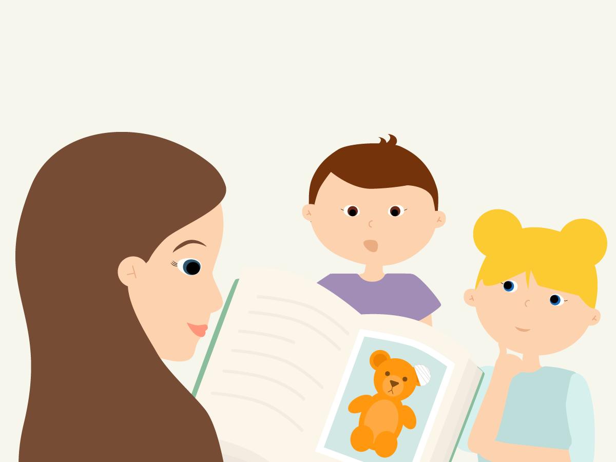 It's OK To Read Sad Stories to Children