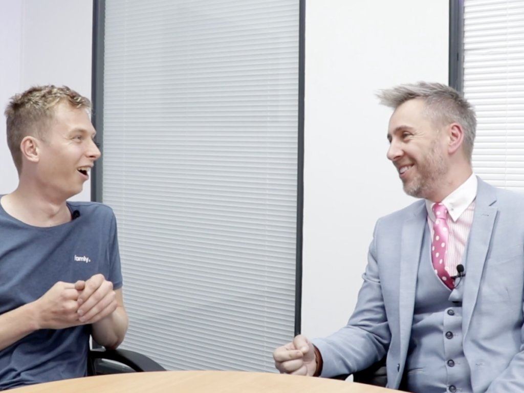 Alistair Bryce-Clegg: The Famly Interview [Video]