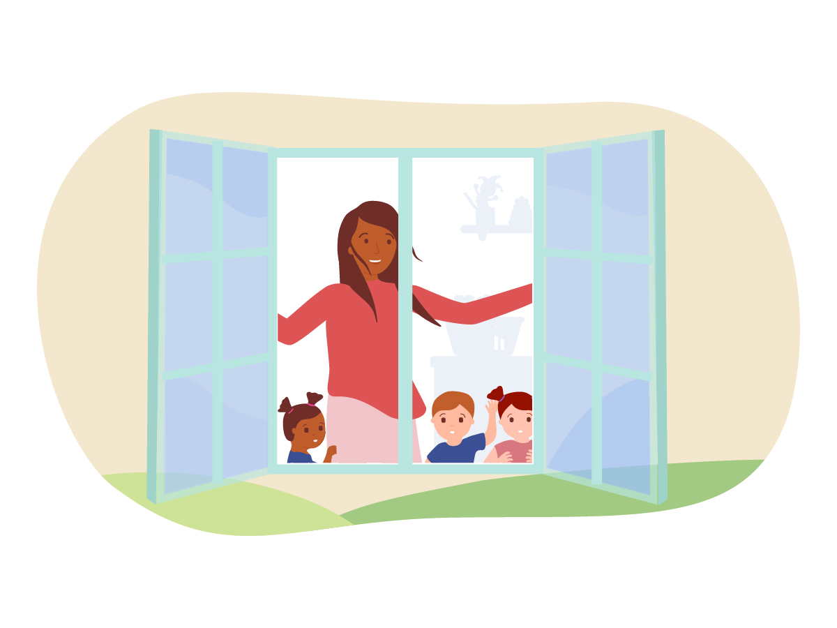 Can Opening a Window Really Make Child Care Safer?